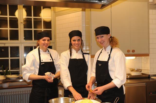 Tre kockar i slottsköket